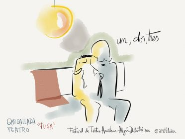 Graphic recording X Festival de Teatro Amateur de Alegría-Dulantzi.